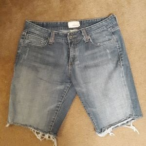 Maurice's ladies cut off jean shorts. Size 11/12